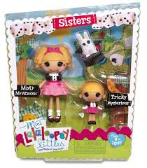 Lalaloopsy Invitation Cards Amazon Com Lalaloopsy Mini Littles Tricky Mysterious And Misty