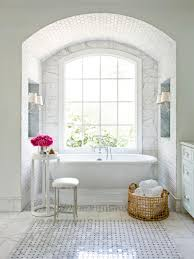 ideas for decorating bathroom walls 15 simply chic bathroom tile design ideas hgtv
