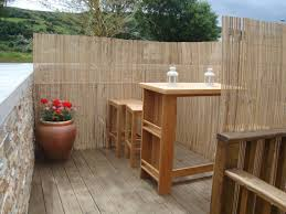 this image with appealing diy outdoor privacy screen ideas