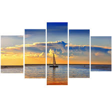 Boat Decor For Home by Compare Prices On Ocean Boat Canvas Art Online Shopping Buy Low