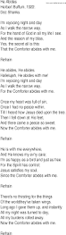 He Is My Comforter Hymn And Gospel Song Lyrics For He Abides By Herbert Buffum