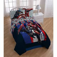Walmart Captains Bed by Captain America Bed Sheets Marvel Avengers Civil War Twinfull