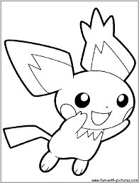 pichu coloring pages www bloomscenter com