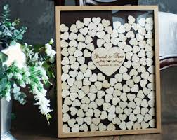 alternative guest book guest book wedding guest book alternative personalized drop box