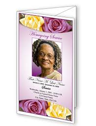 beautiful funeral programs trifold funeral program templates obituary templates