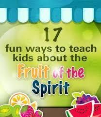 Fruit Of The Spirit Crafts For Kids - 72 best fruit of the spirit crafts images on pinterest