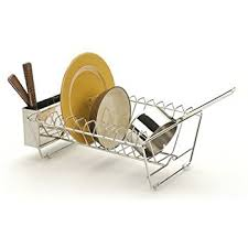 Kitchen Drying Rack For Sink by Amazon Com Umbra Sinkin Dish Drying Rack Dish Drainer Caddy