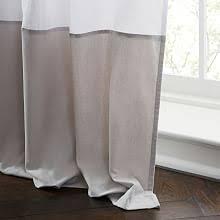 Gray Window Curtains Window Treatments West Elm