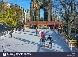 edinburgh u0027s christmas in east princes street gardens with ice rink