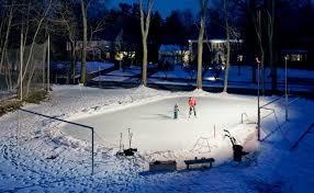 Best Backyard Hockey Rinks Building A Backyard Ice Rink Media Magazine
