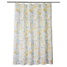 Yellow And Navy Shower Curtain Blue Shower Curtains U0026 Liners Target