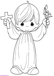 angel drawing for kids