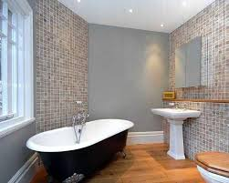 bathroom tile colour ideas photo of beige blue white bathroom with bath claw foot bath