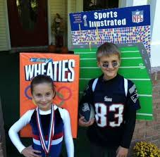 Patriots Halloween Costume Olympic Gold Medalist Wheaties Patriots Player Sports
