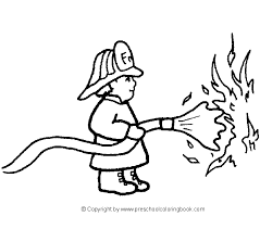 fire prevention coloring sheets images printable coloring