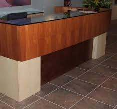 Commercial Reception Desk Custom Made Commercial Reception Desk By Figueroa S Custom