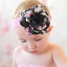 beautiful bows boutique buy floral black flower clip or headband online at beautiful bows