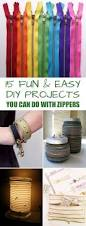 15 fun and easy diy projects you can do with zippers easy diy