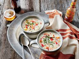 Southern Comfort Sweet Potatoes Chicken Sweet Potato And Corn Slow Cooker Chowder Recipe