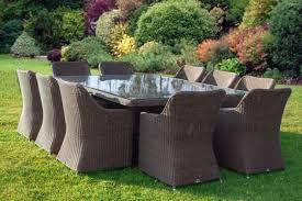 tavoli da giardino rattan tavolo da giardino dieci posti in rattan sintetico di annunci