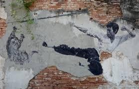100 rock wall mural online get cheap rock wall mural rock wall mural street life the murals of george town penang a bigger world