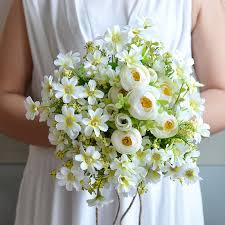 country wedding bouquets keythemelife country style wedding bouquet all handmade bridal