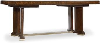 hooker furniture dining room skyline trestle dining table 5336 75206