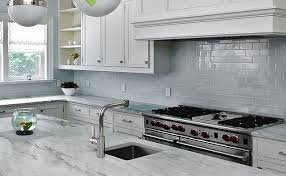 kitchen backsplash tile ideas subway glass kitchen unpredicted white granite countertop with soft grey wall