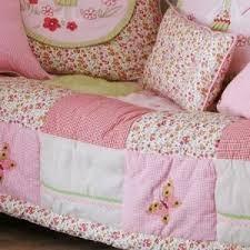 tagesdecke kinderzimmer rosa decke mit schmetterlingen für mädchenbetten kaufen