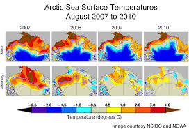Alaska Temperature Map by Weather And Feedbacks Lead To Third Lowest Extent Arctic Sea Ice