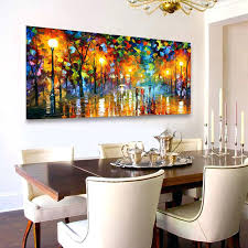 painting dining room dining room lovely paintings landscape painting wallpainting full