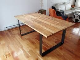 table de cuisine bois table de cuisine en bois de grange l87 in simple home design style