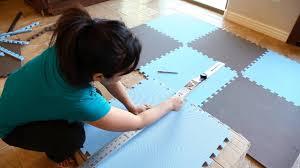foam tiles installation made easy