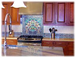 Hand Painted Tiles For Kitchen Backsplash Hand Painted Kitchen Backsplash Tiles Gramp Us