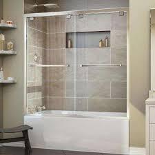 23 Inch Shower Door Bathtub Doors Bathtubs The Home Depot Within Shower For Design 11
