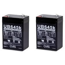 amazon com 6 volt 4ah rechargeable sealed lead acid sla battery 6