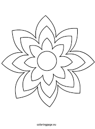 printable large flowers 19 best flower templates images on pinterest paper flowers