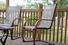 Mesh Patio Furniture Refurbish Outdoor Furniture With Spray Paint Like New 1 More Than 2