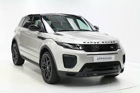 White Range Rover With Red Interior Approved Used Range Rover Evoque For Sale Used Land Rover Evoque