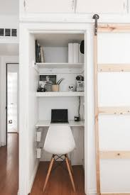 Closet Office Desk A Closet Office Means Anyone Can Work From Home Architectural Digest