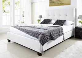 Ottoman White Bed Leather Ottoman Storage Bed Coryc Me