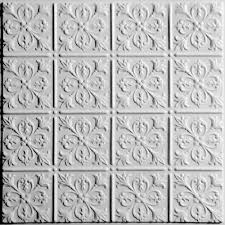 Drop Ceiling Tiles 2x2 White by Drop Ceiling Tiles Ceiling Tiles The Home Depot