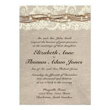 Burlap And Lace Wedding Invitations 4706 Best Rustic Country Wedding Invitations Images On Pinterest