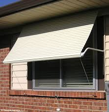 Drop Down Awnings 5500 Series Roll Up Window Awning