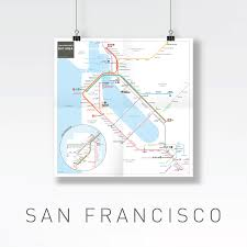 San Francisco Metro Map Pdf by Inat Metro Mapping Standard Jug Cerovic Architect