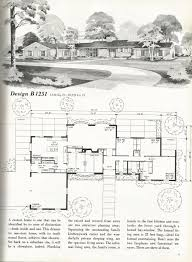 vintage house plans mid century homes vintage homes old house
