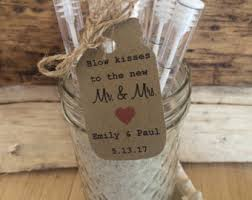 wedding bubbles wedding tags etsy