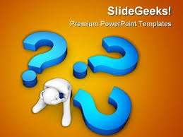 too many questions powerpoint templates slides and graphics