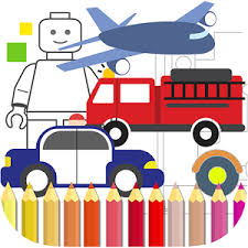 coloring book boys police car android apps google play
