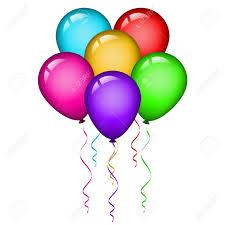 palloncini clipart vector illustration of colorful balloons clip libres de droits